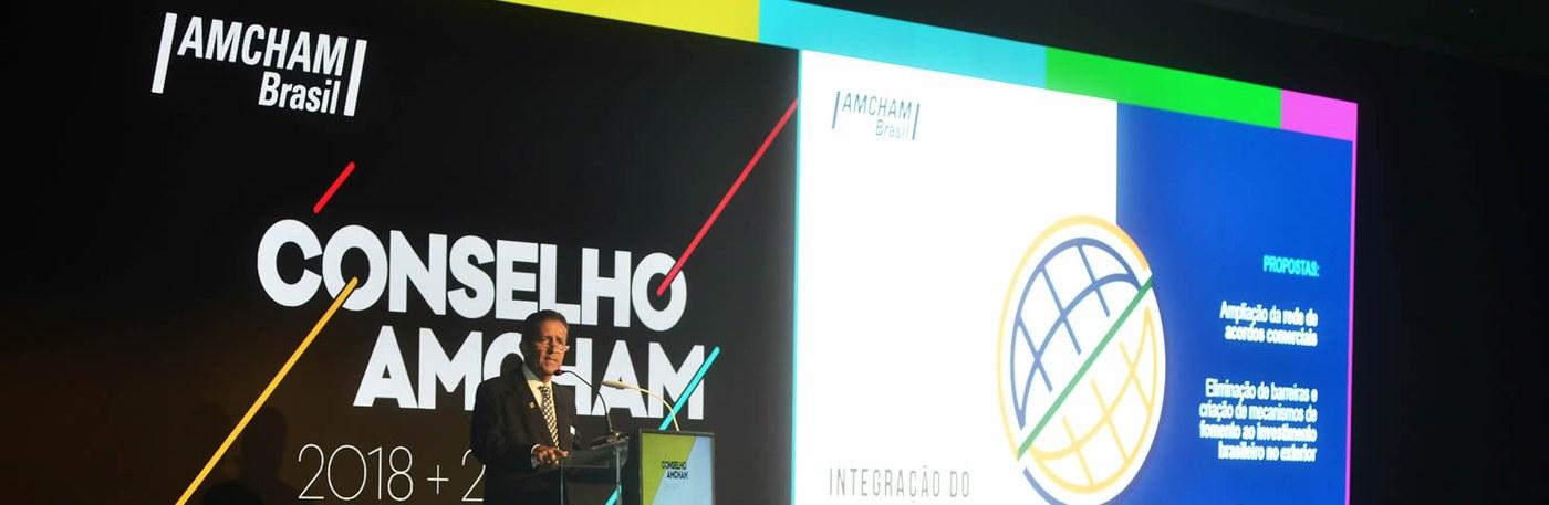 São Paulo – Posse foi acompanhada por 300 CEOs, empresários e executivos