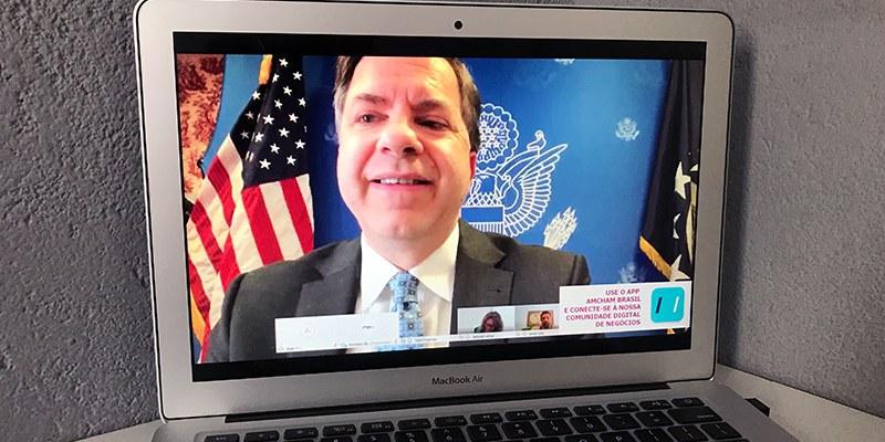 Brasil -Todd Chapman também reforçou o apoio à participação plena do Brasil na OCDE