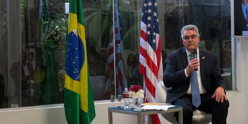 São Paulo – Bruce Kettler, diretor de Agricultura de Indiana, veio ao Brasil apresentar as potencialidades do Estado