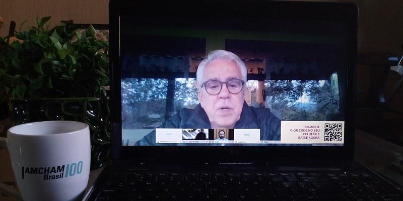 Rio de Janeiro – Em webinar, Roberto Castello Branco avalia o atual momento da companhia e do setor