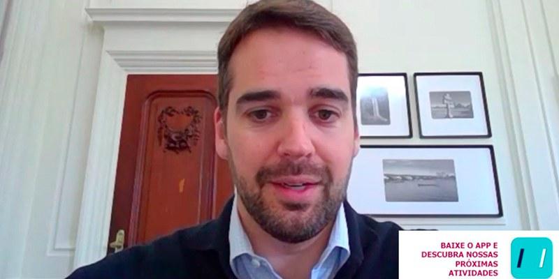 Porto Alegre - Governador gaúcho mostrou o modelo de Distanciamento Social Controlado a empresários durante live