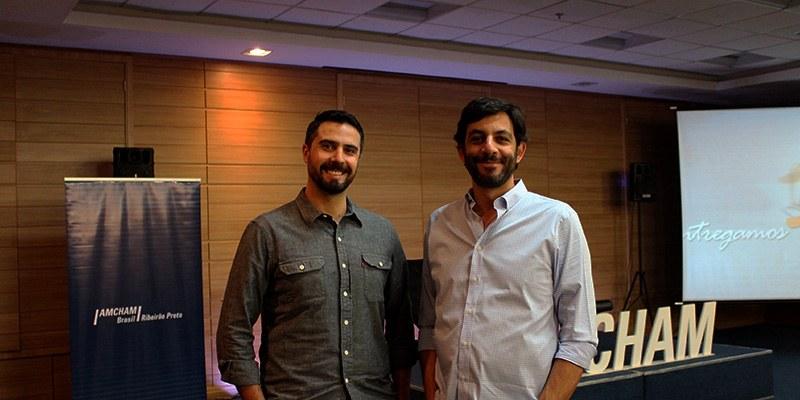 Ribeirão Preto - Thiago Franzão e Alexandre Mutran reuniram cerca de 150 empresários para compartilhar experiências