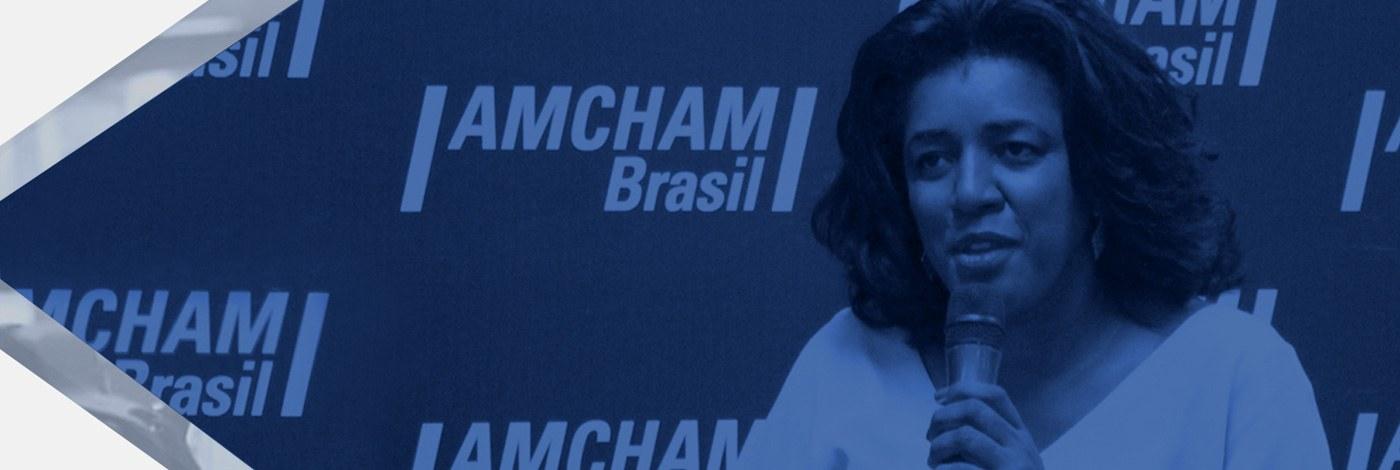 Webinar da Amcham, Rachel Maia