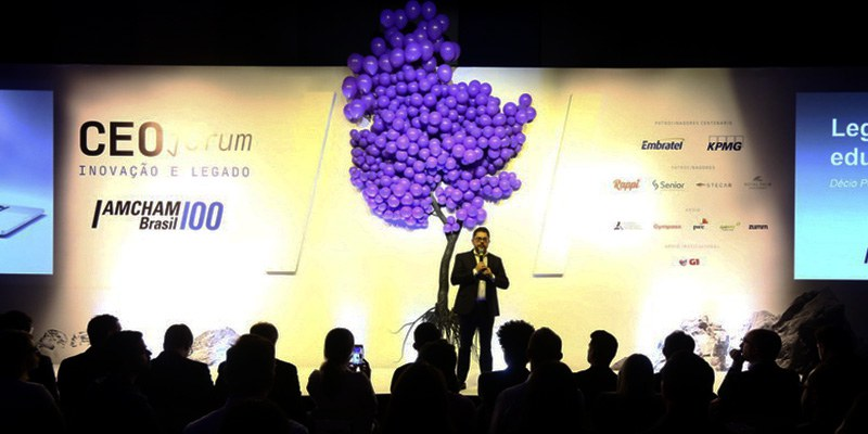 Ribeirão Preto – Décio Pecin foi um dos líderes que participaram da edição do CEO Fórum na cidade