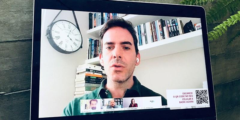 Brasil - Fabio Rua enxerga o momento como uma oportunidade de 'dar um reboot no cérebro, na economia e nas relações'