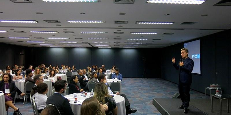 São Paulo – Ser líder inclusivo é fundamental, defende Rodrigo Santos