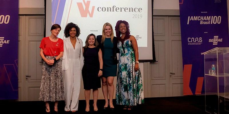 Rio de Janeiro – Equidade de gênero no mercado de trabalho foi abordada no 2º W Conference